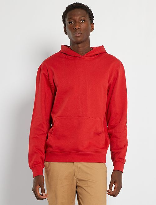 Sudadera con capucha                                                                                                     rojo bombero