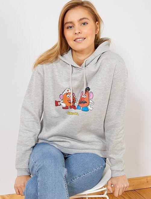 Sudadera con capucha 'Toy Story'                                                                             GRIS