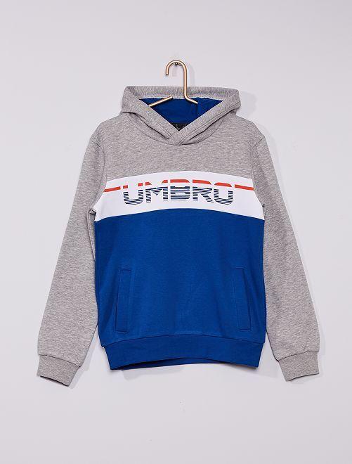 Sudadera con capucha 'Umbro'                             GRIS