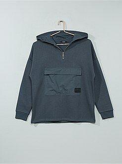 Sudaderas - Sudadera con capucha y bolsillo grande