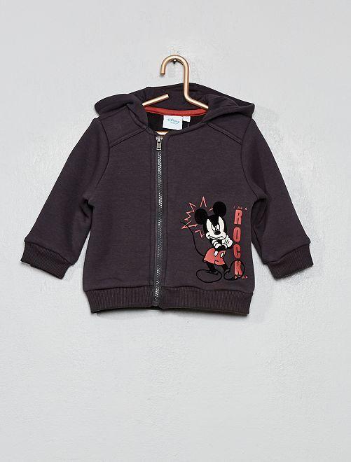Sudadera con cremallera 'Mickey'                             GRIS