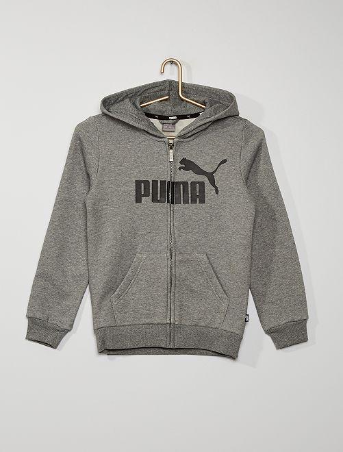 Sudadera con cremallera y capucha 'Puma'                             BEIGE
