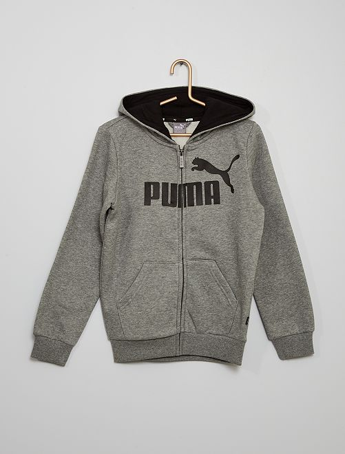 Sudadera de cremallera con capucha 'Puma'                                         BEIGE