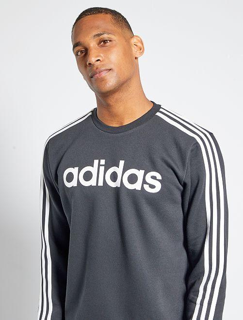 Sudadera de felpa 'Adidas'                             NEGRO