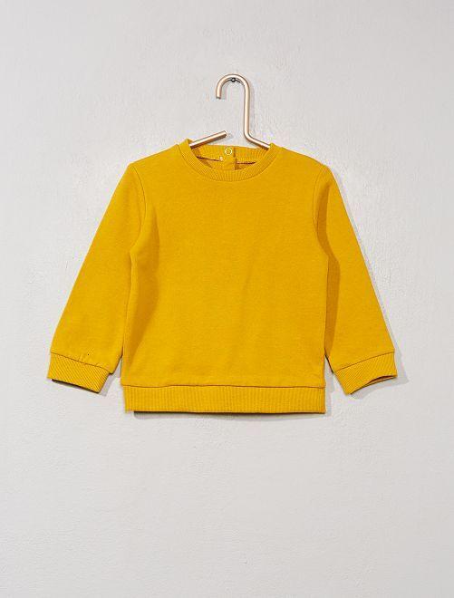 Sudadera de felpa                                                                                         amarillo bronce