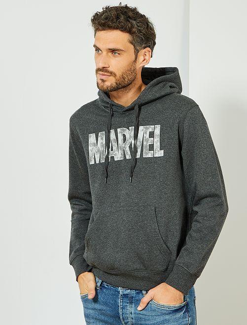 Sudadera de felpa 'Marvel'                                         GRIS