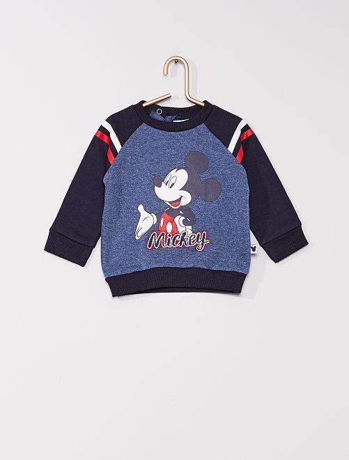 Sudadera de felpa 'Mickey'                                         azul