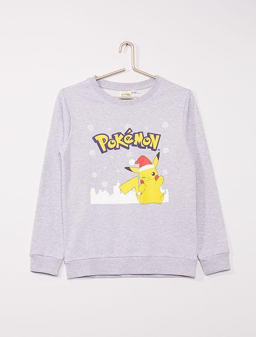 Sudadera de felpa 'Pokemon'                             VERDE