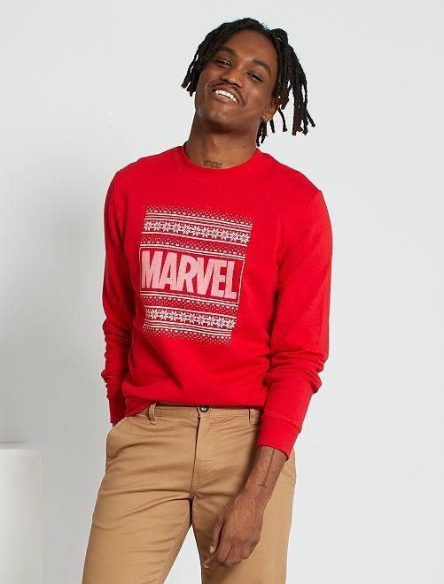 Sudadera de Navidad 'Marvel'                             ROJO