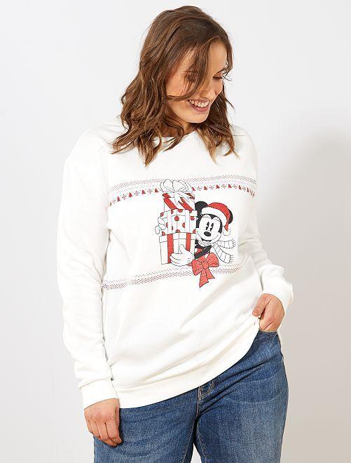 Sudadera de Navidad 'Minnie'                             BLANCO