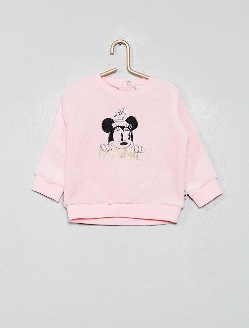 Sudadera de punto polar 'Minnie'                             rosa