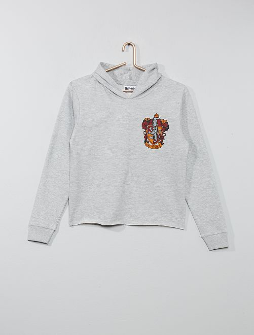 Sudadera fina 'Harry Potter'                             gris Chica