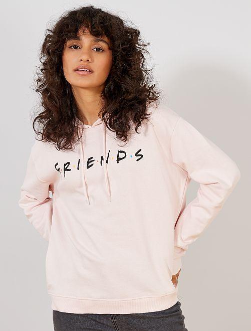 Sudadera 'Friends'                             ROSA Mujer talla 34 a 48