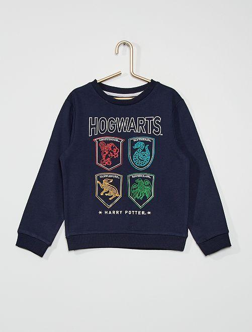 Sudadera 'Harry Potter'                             azul marino