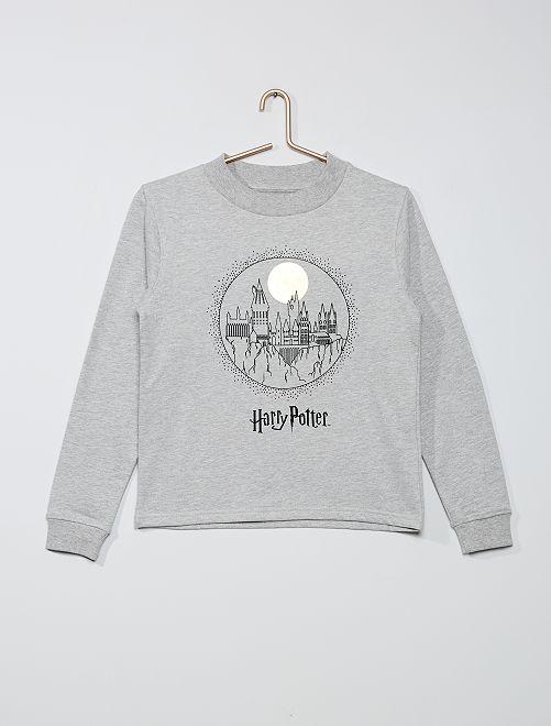 Sudadera 'Harry Potter'                             gris chiné