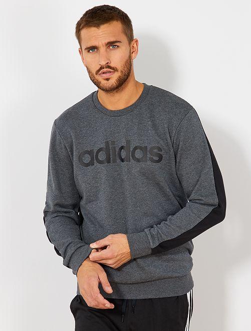 Sudadera ligera 'Adidas'                             GRIS Hombre