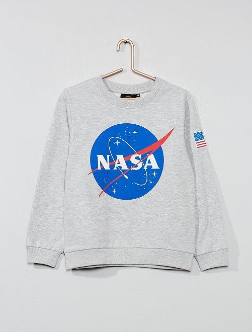 Sudadera ligera 'NASA'                             gris Chico