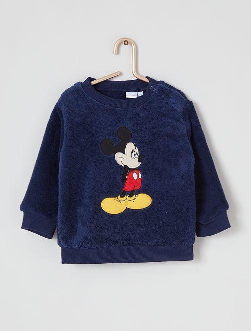 Sudadera 'Mickey' de punto                             azul marino