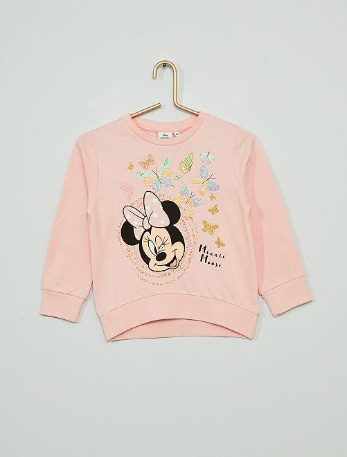Sudadera 'Minnie' de 'Disney'                             rosa