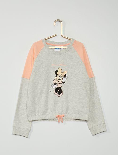 Sudadera 'Minnie'                             gris/rosa