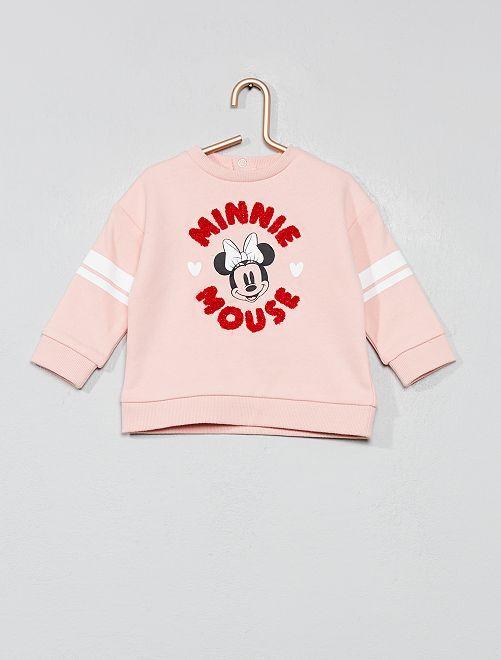 Sudadera 'Minnie'                             ROSA Bebé niña