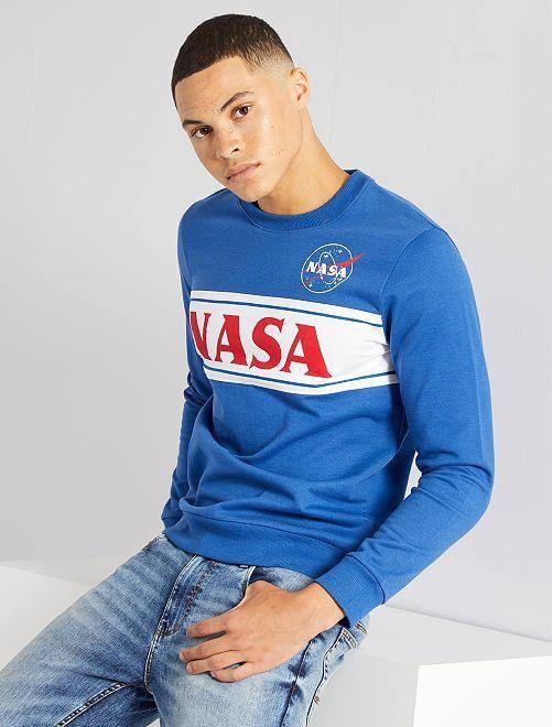 Sudadera 'NASA'                             azul