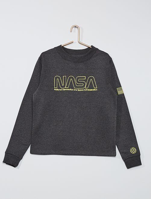 Sudadera 'NASA'                             GRIS