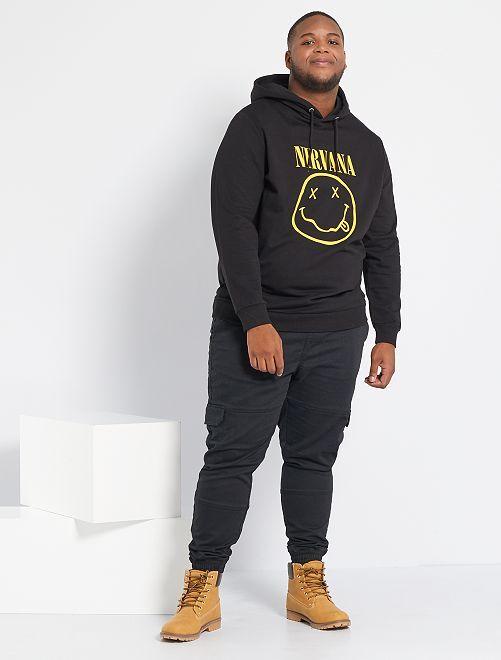 Sudadera 'Nirvana'                             negro