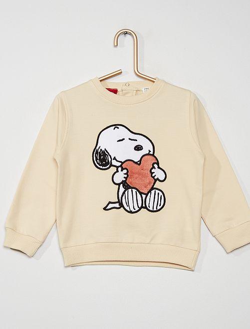 Sudadera 'Snoopy'                                         BLANCO