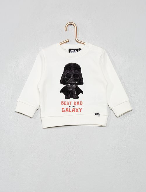 Sudadera 'Star Wars'                             BLANCO