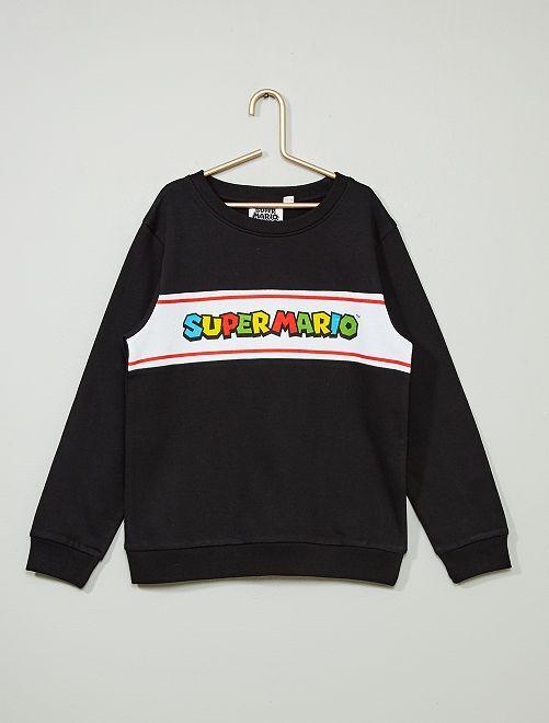 Sudadera 'Super Mario'                             negro