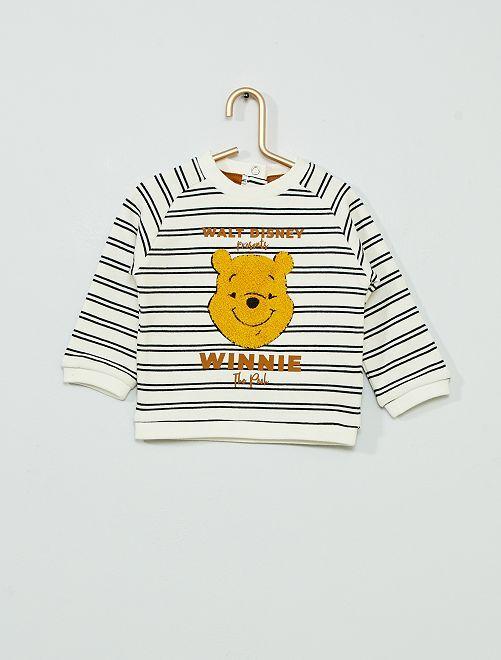 Sudadera 'Winnie The Pooh' 'eco-concepción'                             BLANCO