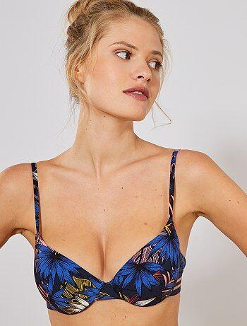 3d0fbccac0c Mujer talla 34 a 48 - Sujetador de bikini con aros - Kiabi