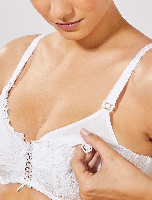 Sujetador de lactancia 'Sans Complexe'                             blanco