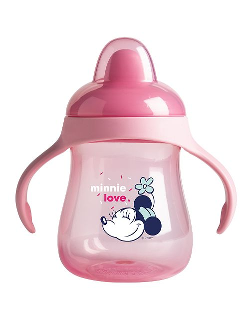 Taza con boquilla de plástico 'Disney'                                                     ROSA