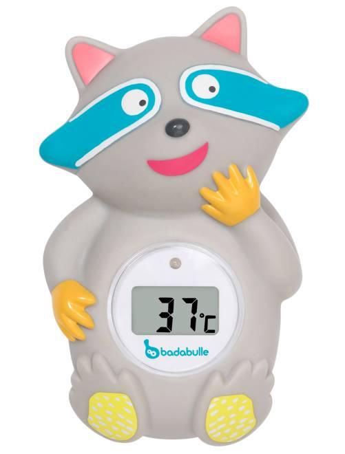 Termómetro digital de bañera 'Badabulle'                             gris