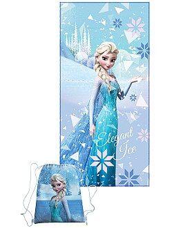 Mochila, bata escuela - Toalla + bolsa de piscina 'Frozen' - Kiabi