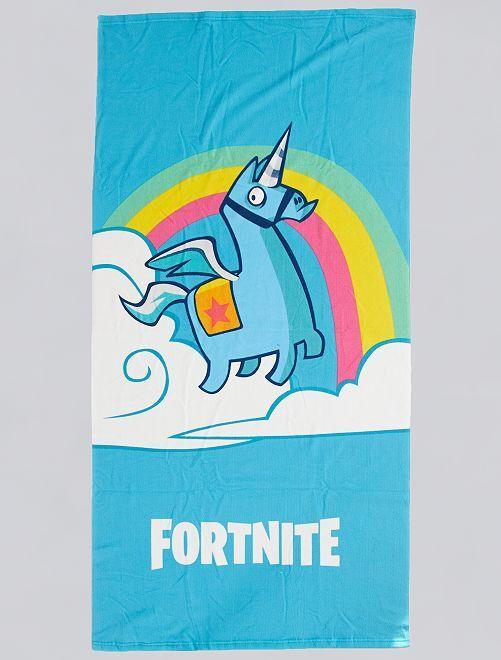 Toalla de playa 'Fortnite'                             azul