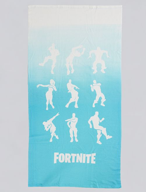 Toalla de playa 'Fortnite'                             azul/blanco
