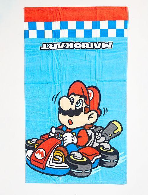Toalla de playa 'Mario Kart'                             azul
