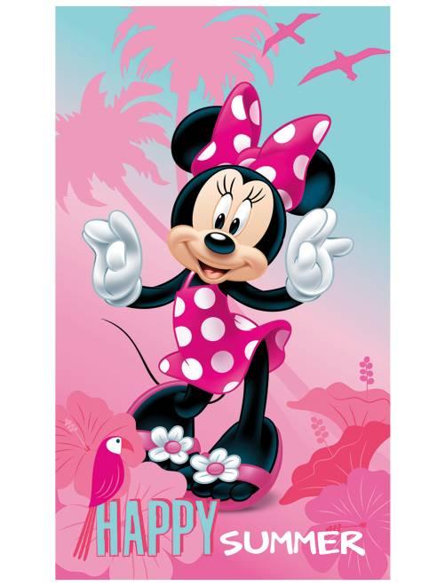 Toalla de playa 'Minnie'                             rosa Chica