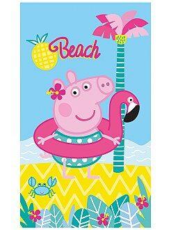 Baño - Toalla de playa 'Peppa Pig' - Kiabi