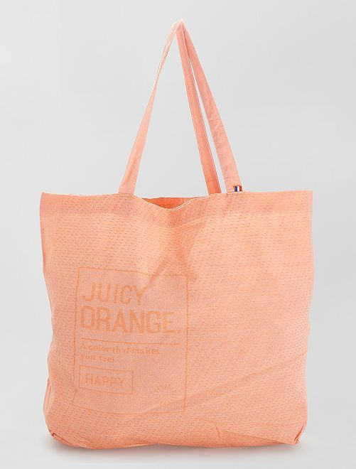 Totebag made in France                                                     AMARILLO