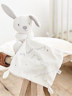 Niña 0-36 meses - Trapito de terciopelo de 'conejo' - Kiabi