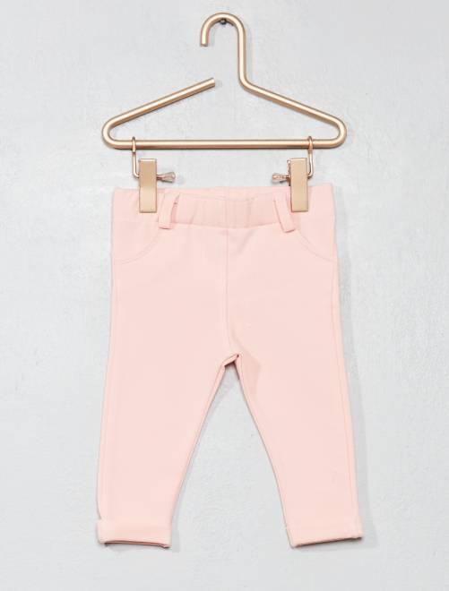 Tregging stretch                                                                 rosa polvo Bebé niña