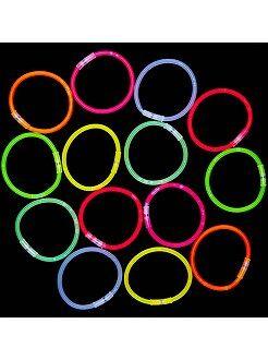 Accesorios - Tubo de 15 pulseras luminosas