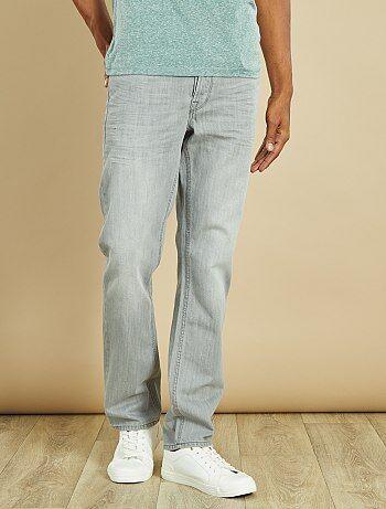 Hombre talla S-XXL - Vaquero regular con 5 bolsillos - Kiabi