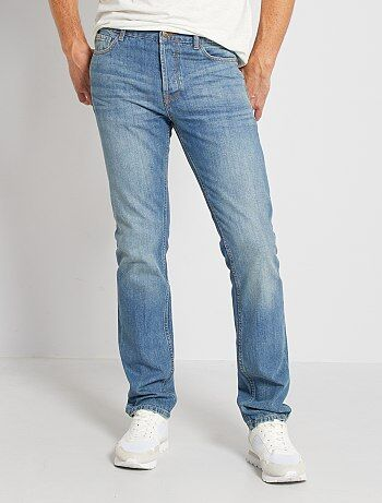 Hombre talla S-XXL - Vaquero regular con 5 bolsillos largo US 34 - Kiabi