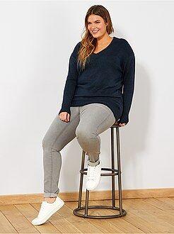 Tallas grandes mujer Vaquero skinny 5 bolsillos efecto push-up L32