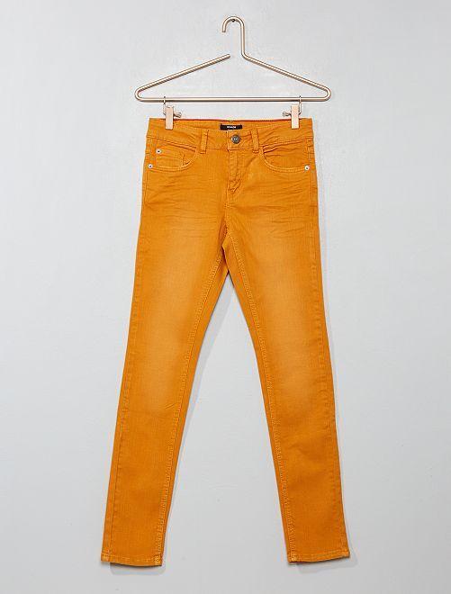 29e04b9dba6 Vaquero skinny de algodón elástico Joven niño - azul - Kiabi - 13
